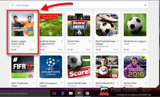 descargar dream league soccer 2017 para pc gratis
