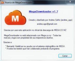 Megadownloader 1.7 Descargar Portable y Full (Última versión 2017)