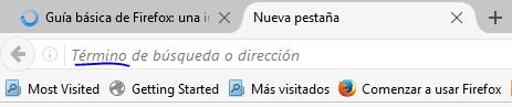 ingresar dirección IP en navegador Firefox