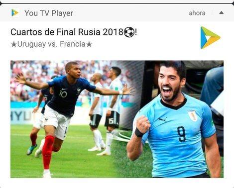 Ver cuartos de final y semifinal mundial Rusia 2018