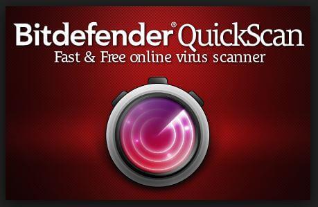 bitdefender quickscan scanner online rápido y gratuito