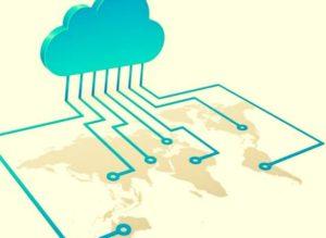 como funciona la nube o cloud Internet