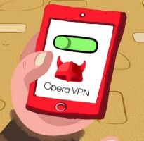 opera vpn para ver pelis en android