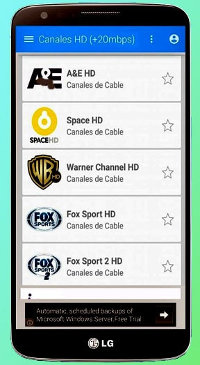 añadir canales tutvplayer.tv