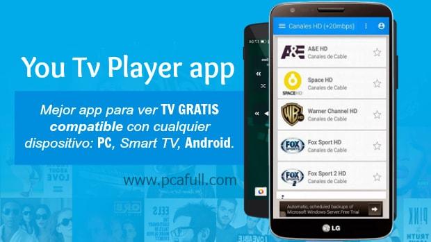 descargar you tv player latino gratis