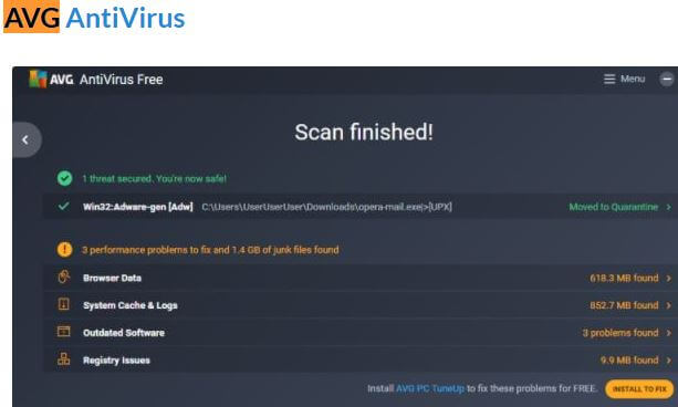 avg antivirus gratis descargar